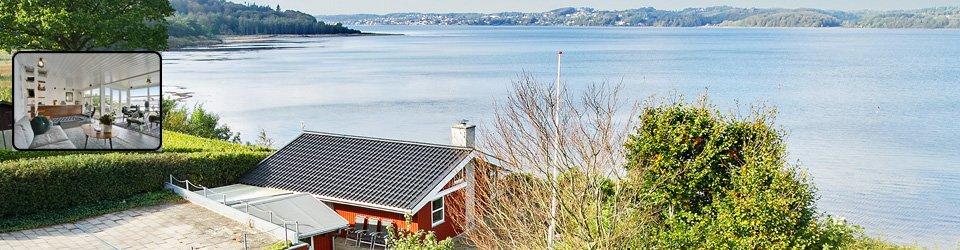 Luksussommerhus direkte til stranden - Vejle Fjord